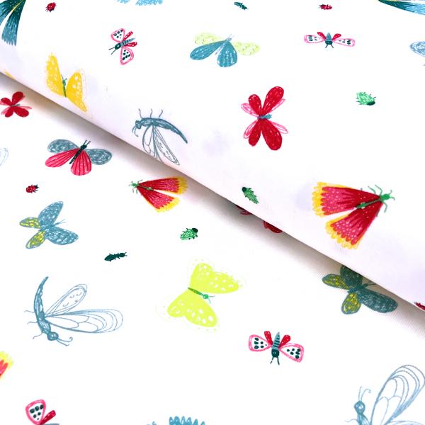 Jersey weiß Schmetterlinge & Libellen Gartenserie