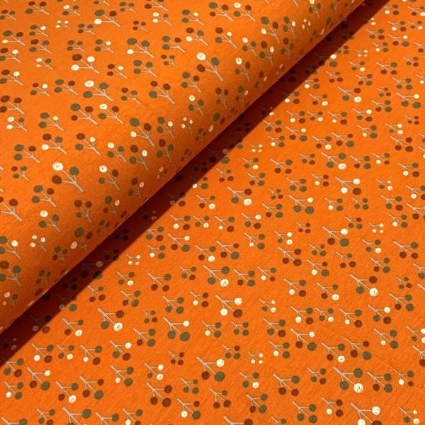 Jersey kleine Bäume auf orange