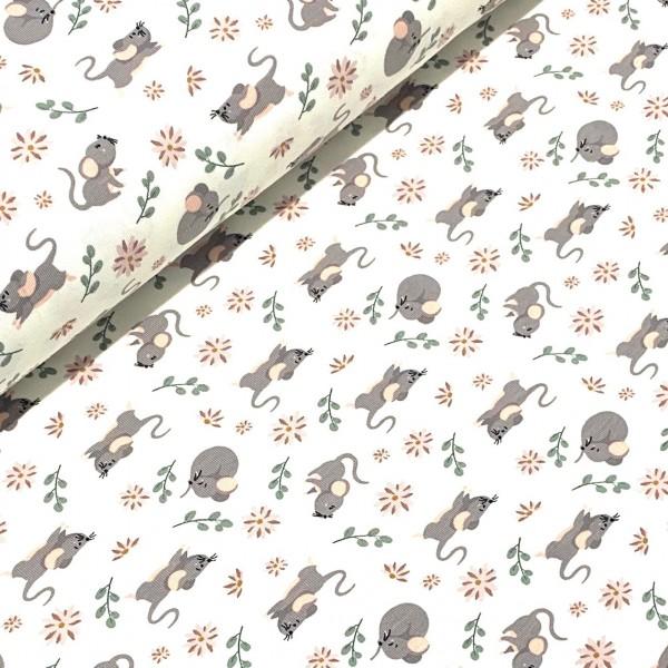 Jersey kleine Mäuse weiß