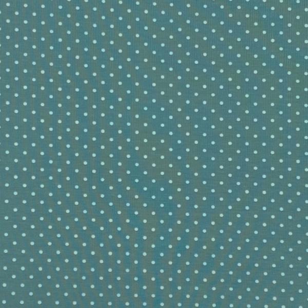 Jersey Punkte mintgrün-zartmint 022 Motivgröße Punkt ca. 3mm