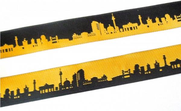 Webband Berlin schwarz-gelb