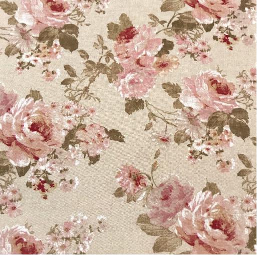 Canvas Rosen, Teerosen auf beige