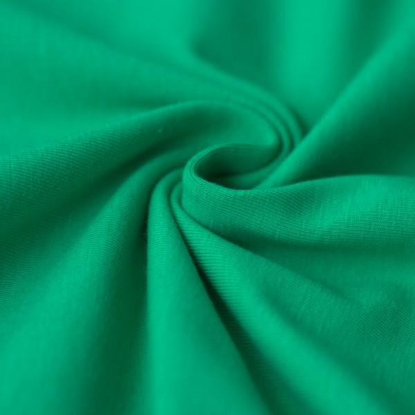 Jersey uni dunkelgrün