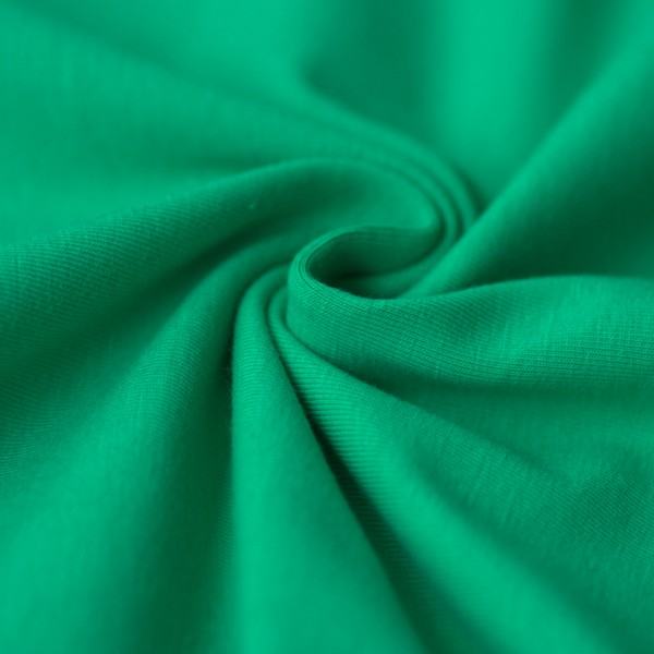 Jersey uni grasgrün