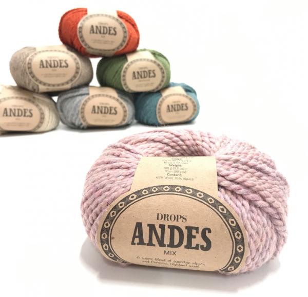 Andes (4276) nebelrosa mix