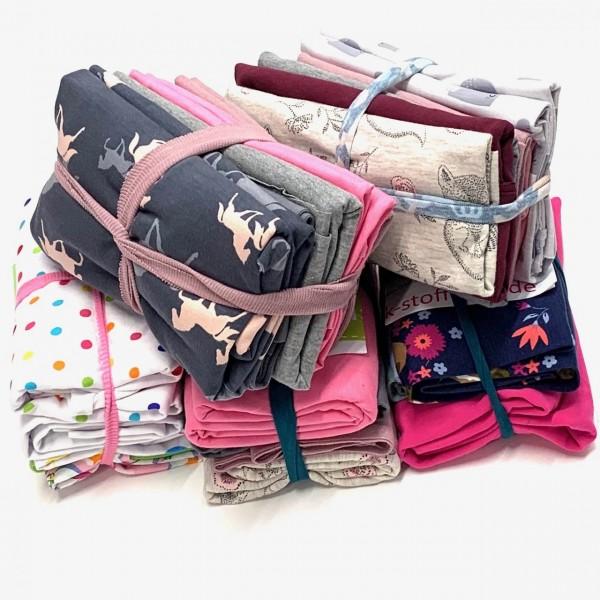 Jerseystoff-Paket Mädchen, 500g