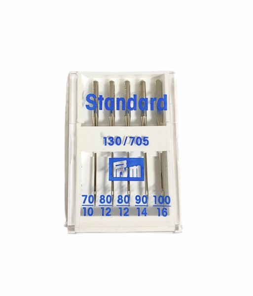 Nähmaschinennadeln Standard Stärke 70-100, Prym, Flachkolben