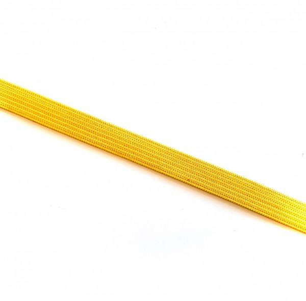 Gummiband 1 cm gelb 2m