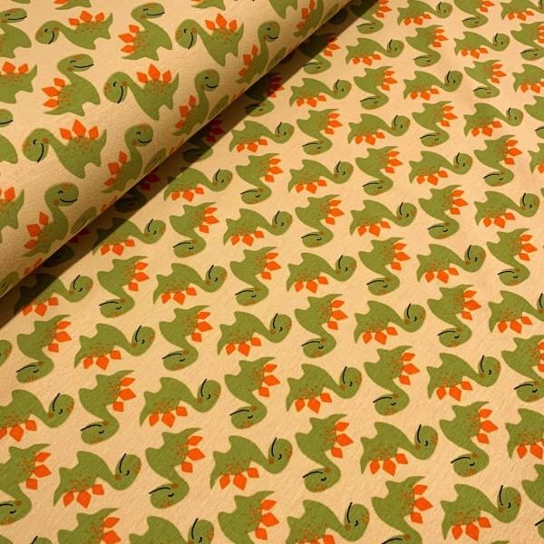 Jersey Dino beige-grün