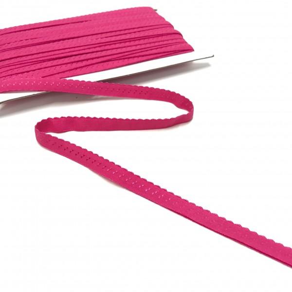 Elastisches Einfassband, Wäschegummi, pink