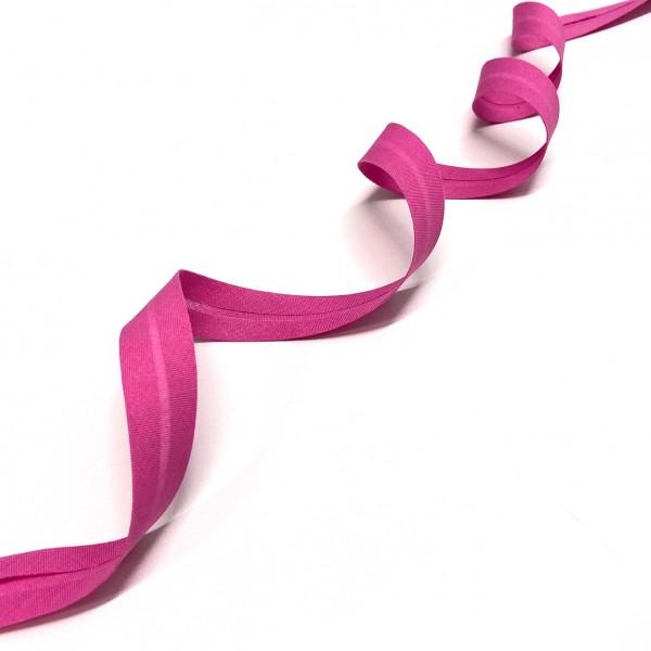 3 m Schrägband 100 % Baumwolle 20mm pink