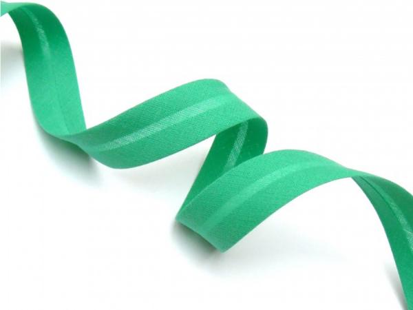 5m Schrägband uni grüntürkis 323