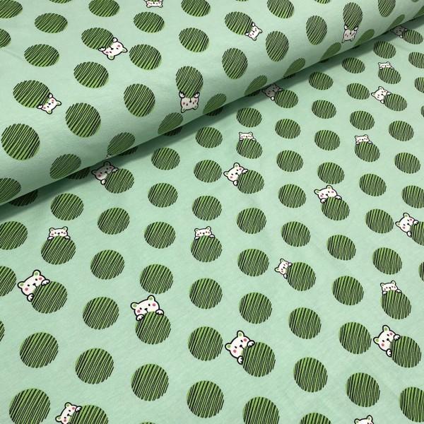 Jersey Bär und Dots grün