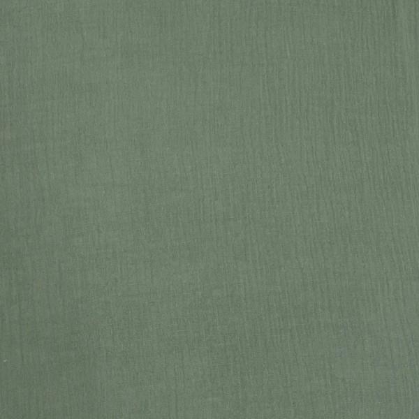 Musselin Uni graugrün (22)
