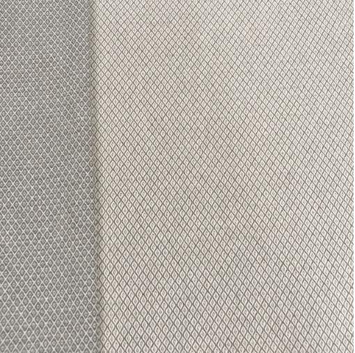 Candy Canvas Rauten grau