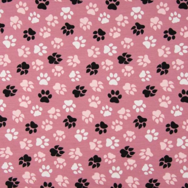 Jersey Hunde Pfoten rosa