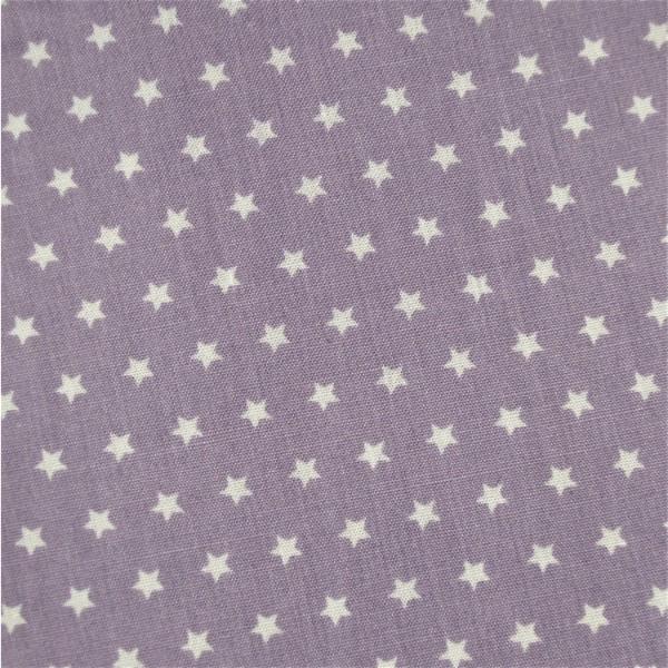 Mini-Sterne flieder-weiß