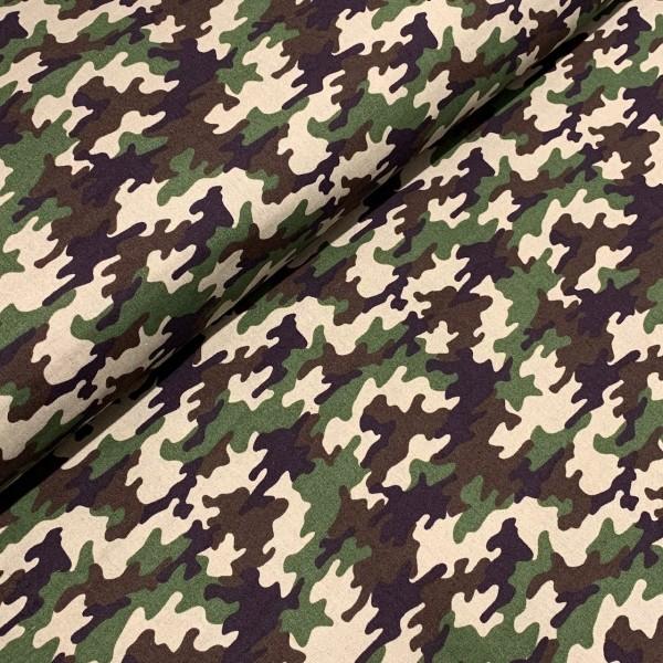 Camouflage klein grün 100%BW
