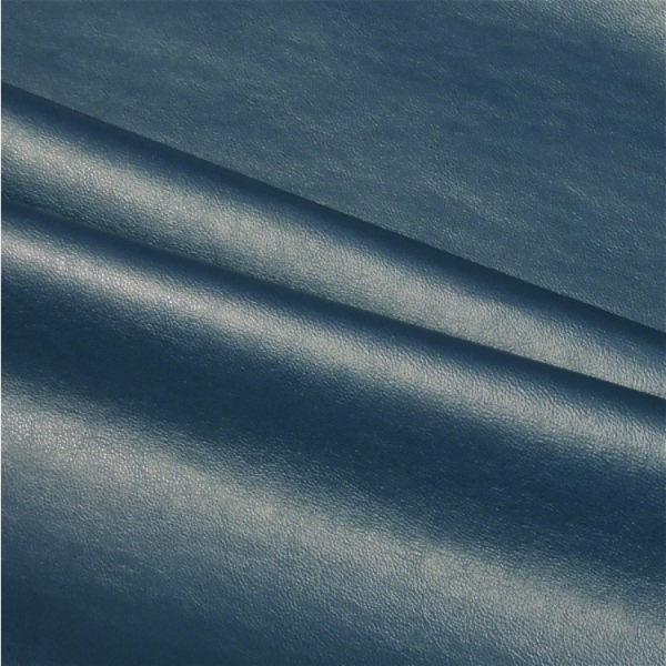 Kunstleder uni dunkelblau