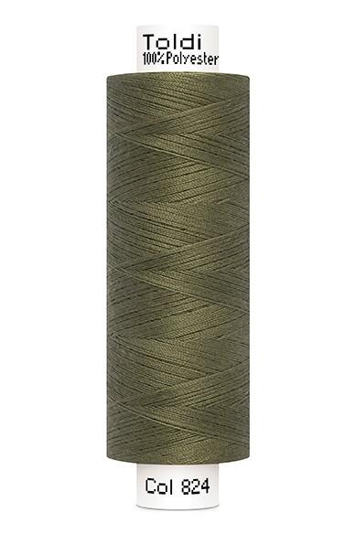 Toldi-Nähgarn, 500m, khaki (824)