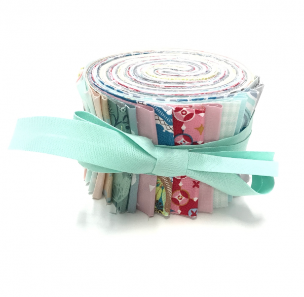 Jelly Roll Pastel Spring, 6,5cm breit