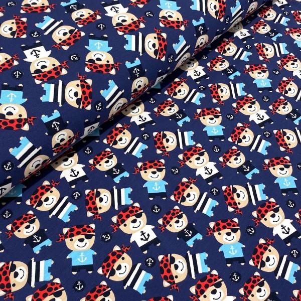Jersey Piraten Bären dunkelblau