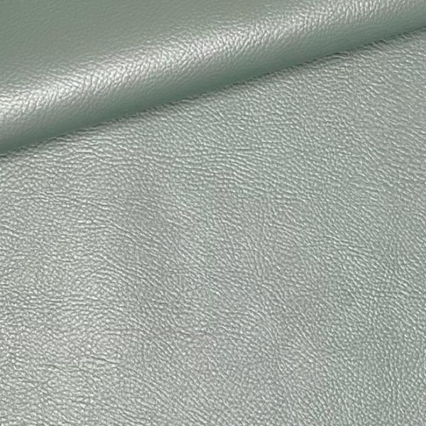 Kunstleder uni Perlmutt-Glanz mint grün