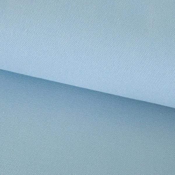 Canvas Baumwolle uni hellblau