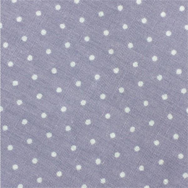 Mini-Punkte 1mm flieder-weiß