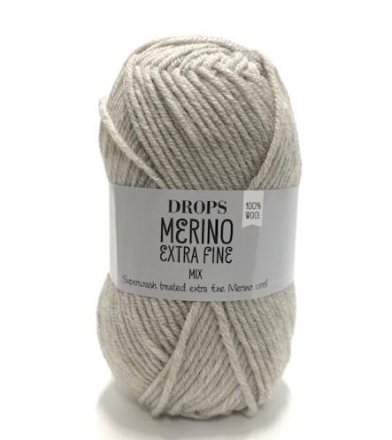 Merino Extra Fine (08) hellbeige mix
