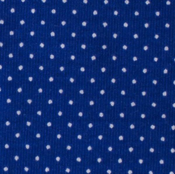 Jersey Minipunkte royalblau