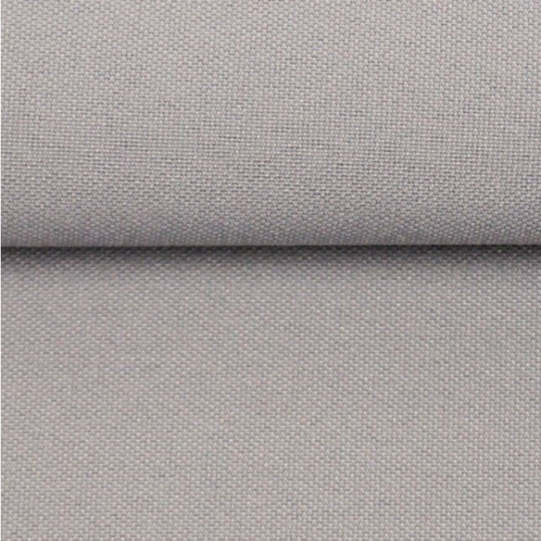 extrabreiter Vorhangstoff aus Polyester, hellgrau