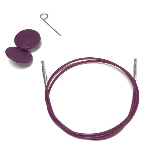 KnitPro Nadelseil 80cm für austauschbare Rundstricknadelspitzen