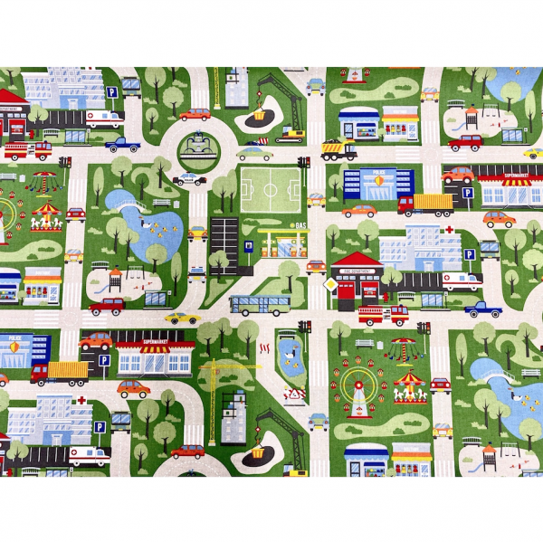 Canvas Tüt-Tüt-Stadtkarte