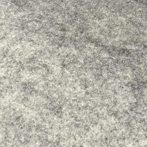Filz waschbar hellgrau Stärke: 1,5mm Breite 90cm 165g/m2 100% Polyester
