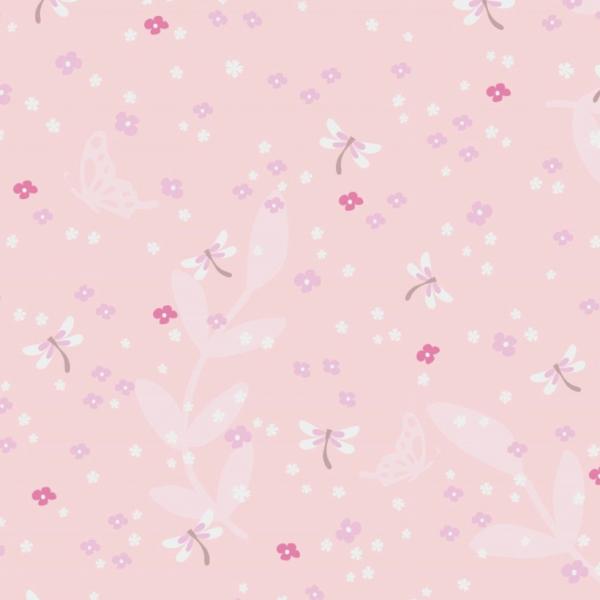 Jersey Libellen und kleine Blüten zartrosa