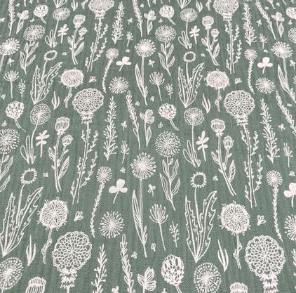 Musselin Wiesenblume mint