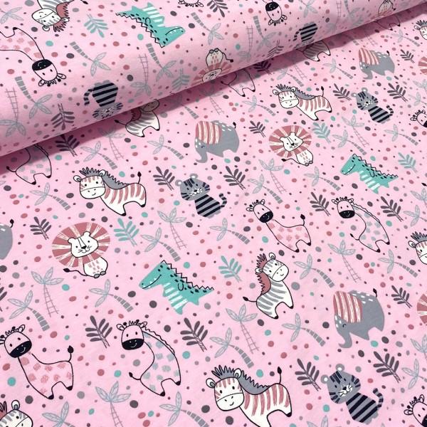 Jersey Zebra und Freunde rosa