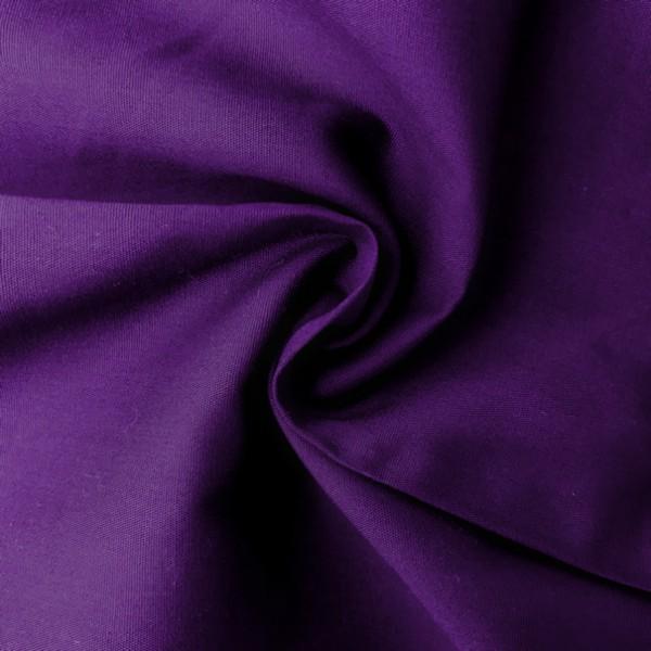 Uni-Baumwollstoff violett