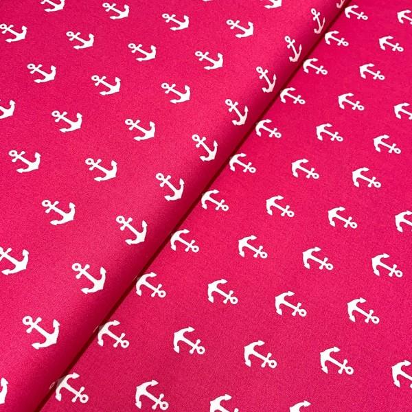 Anker pink-weiß 100% BW