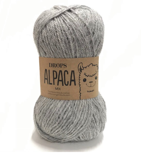 Alpaca (0501) hellgrau mix