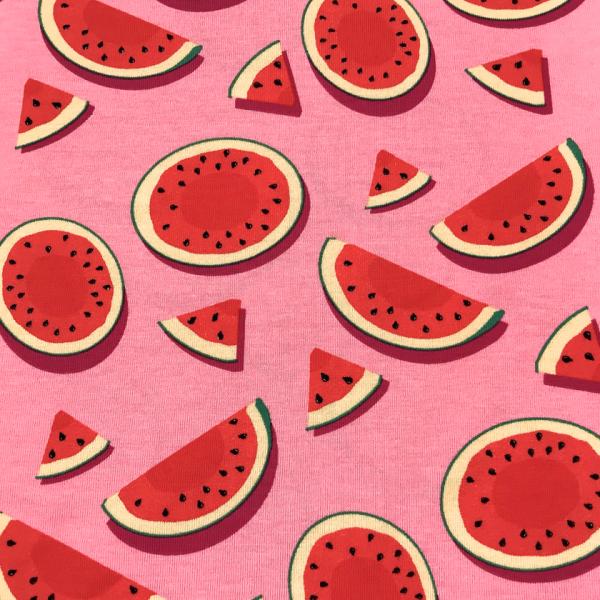 Jersey Wassermelone rosa-rot