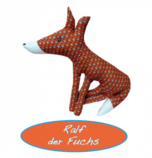 Ralf der Fuchs Schnitt und Anleitung