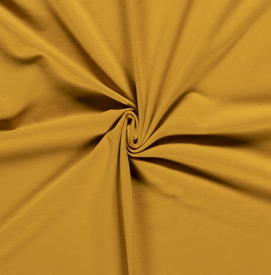 French Terry Uni senf 250 g/m2 1,5m breit ÖkoTex 100