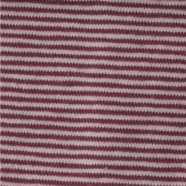 Bündchen Mini-Streifen rosa