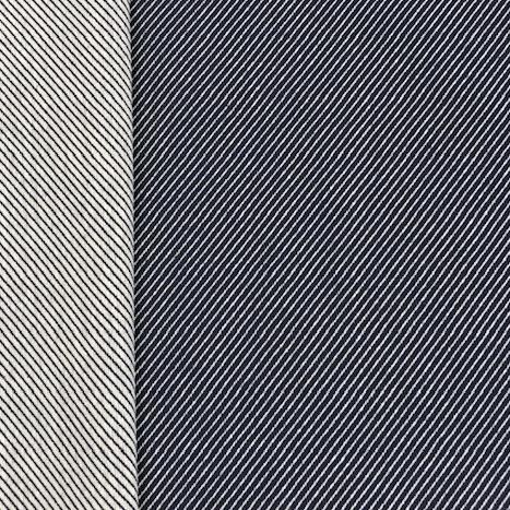 Candy Canvas diagonal dunkelblau