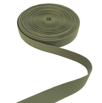BW-Gurtband olivgrün, 30mm breit